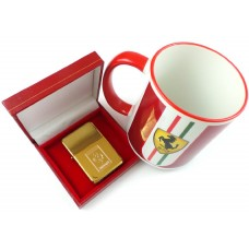 Ferrari Lighter and Ceramic Mug Gift Set